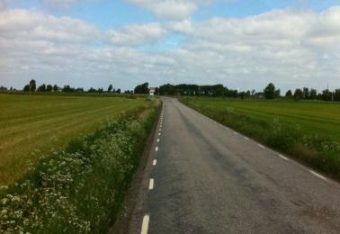 Äntligen Cykelväg !