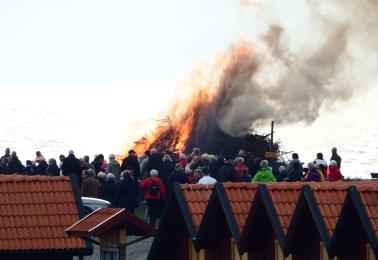 Valborgsfirande i Glommen