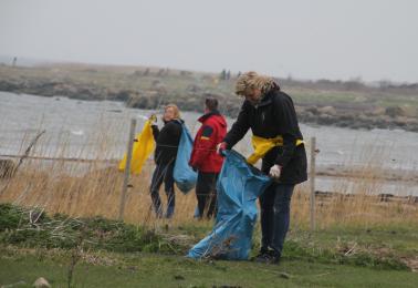 Strandstädning Lörd. 16 April
