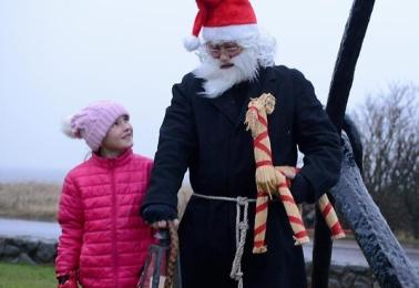 Lyckad Julmarknad i vinterstormen