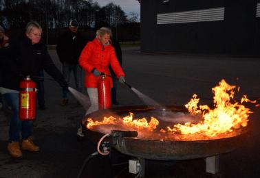 """Räddningstjänsten och Samhällsföreningen har nu startat upp Frivillig Insatsperson """"Fip"""" i Glommen."""
