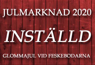 Inställd Julmarknad 2020