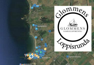 Karta – Glommens loppisrunda 2021